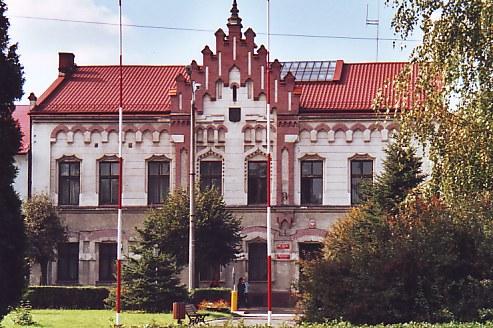 Rådhuset på torvet i zator afstande i km andrychów 16